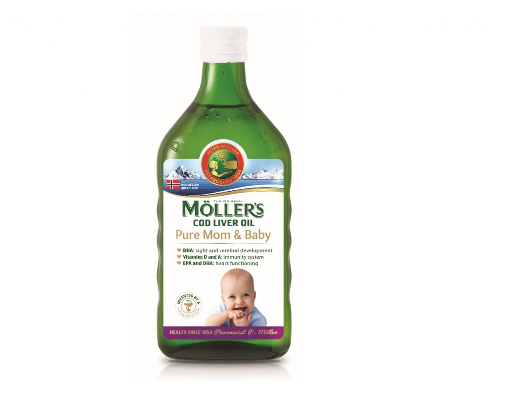 Moller's Pure Mom and Baby