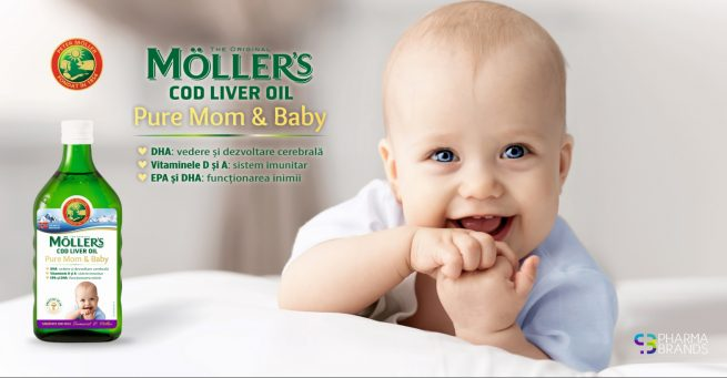 The original Moller's Pure Mom and Baby