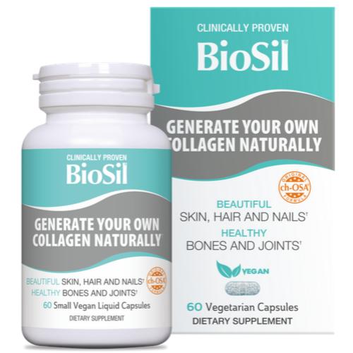BioSil 60 capsule vegane generator de colagen
